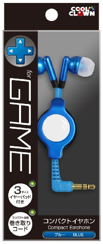 cheap price Compact earphone (for various 3DSLL/3DS/PSP/DS) (Blue) with safe transaction here