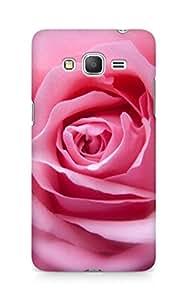 Amez designer printed 3d premium high quality back case cover forSamsung Galaxy Grand Prime (rose pink )