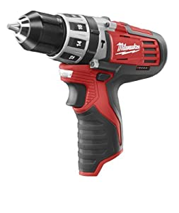 Bare-Tool Milwaukee 2411-20 M12 12-Volt 3/8-Inch Hammer Drill (Tool Only, No Battery) from Milwaukee