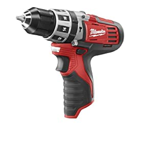 Bare-Tool Milwaukee 2411-20 M12 12-Volt 3/8-Inch Hammer Drill (Tool Only, No Battery)