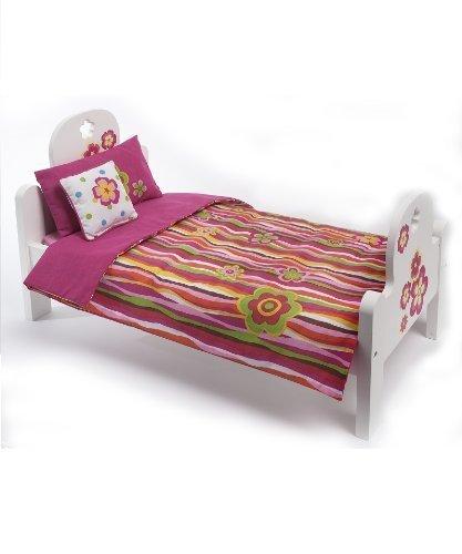 """Madame Alexander Favorite Friends Wood Bed Set for 18"""" Dolls by Madame Alexander"""