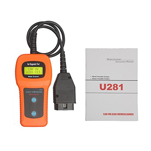 Cheap LHZTECH Memoscan U281 CAN-BUS OBD Code Reader For VW