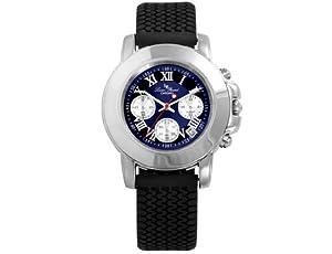 Lucien Piccard Mens Rally Sport Chronograph Watch 28022RUB-BK