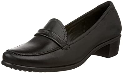 ECCO Women's Pearl Loafer,Black,35 EU (US Women's 4-4.5 M)