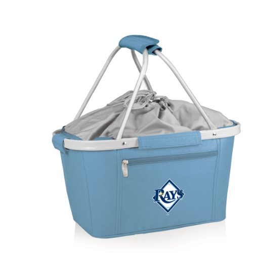 MLB Tampa Bay Rays Insulated Metro Basket, Sky Blue