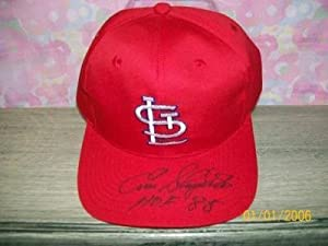 Enos Slaughter Signed St Louis Cardinals Hat Hof85 Rip! - Autographed MLB Helmets and... by Sports+Memorabilia
