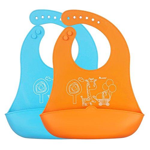 zuoao-bavoir-bebe-souple-en-silicone-avec-recuperateur-pour-proteger-des-taches-et-ramasser-miettes-