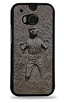 buy Silver Han Solo Frozen In Carbonite Star Wars Htc One (M8) Black Hardshell Case