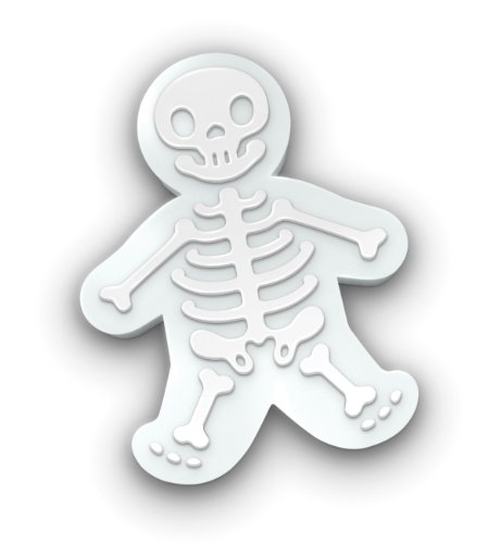 Skeleton Gingerbread Men Cookie Cutter/Stamper