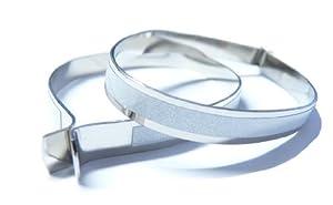 MQ 1 Paar Hosenclips Hosen Clip Hosenschutz Hosenschoner Hosenklammer reflektierend