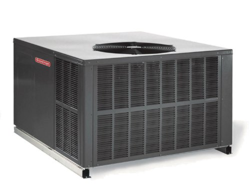 5 Ton 15 Seer Goodman 140,000 Btu 80% Afue Gas Package Air Conditioner - GPG156014041