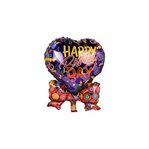 smartcraft Happy Birthday Foil Balloon Blue , Kids Birthday Party Supplies , Theme Birthday Party , Foil Balloons