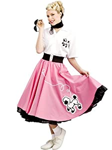 Rubie's Costume 1950'S Poodle Skirt, Pink, Large Costume
