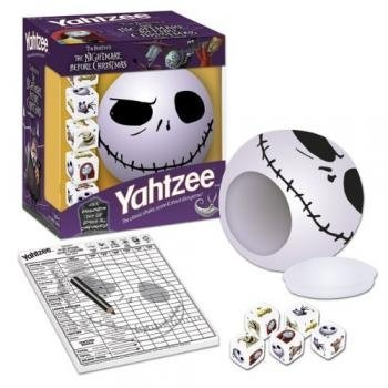 Yahtzee The Nightmare Before Christmas Jack by USAopoly