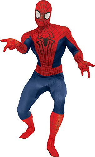 Rubie's Men's Marvel Universe, The Amazing Spider-Man 2nd Skin Costume, Multicolor, One Size