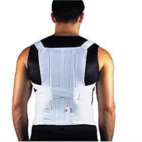 ITA-MED  TLSO (Thoracic Lumbo Sacral Orthosis) - Posture Corrector, Medium Support, Adult, Small