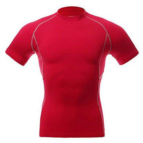 wodery-Athletic-Tops-de-Sport-pour-Homme-de-compression-de-couche-de-base--manches-courtes-pour-homme