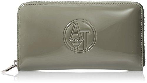 Armani Jeans Shoes & Bags De - 05V32Rj, Portafoglio da donna, grigio (grigio - grey 2t), 19x11x2 cm (B x H x T)