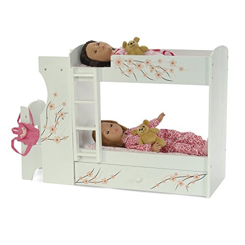 Fits American Girl Doll Bunk Bed Desk Combo 18 Quot Inch Dolls