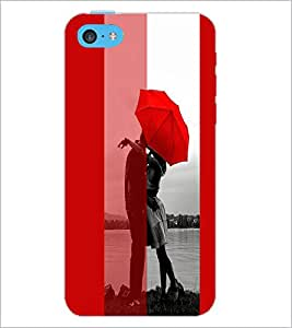 PrintDhaba Couple D-3738 Back Case Cover for APPLE IPHONE 5C (Multi-Coloured)