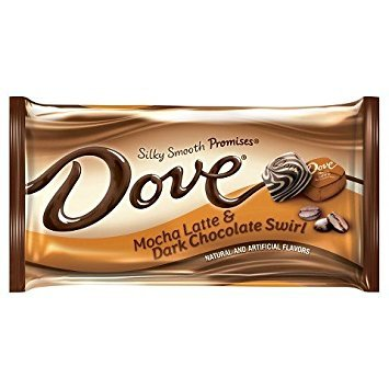 Dove Mocha Latte & Dark Chocolate Swirl 7.94 oz (Pack of 4) (Dove Chocolate Ice Cream compare prices)