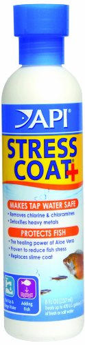 API Stress Coat Water Conditioner, 8-Ounce (Chlorine Test Aquarium compare prices)