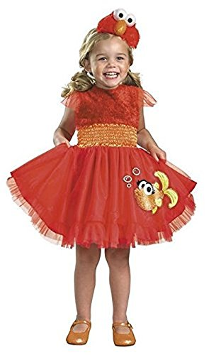 Frilly Elmo Costume - Medium 3T/4T