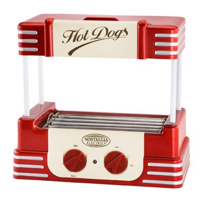New - Nostalgia Electrics Rhd-800 Retro Series Hot Dog Roller By Nostalgia Products Group