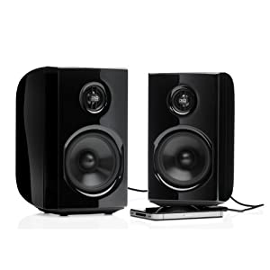 PSB Alpha PS1 Powered Desktop Speakers - Pair (Black)