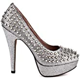 Vince Camuto Women's MADELYN Pump DARK SILVER