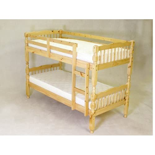 Rio Verona Pine Wood 3Ft Bunk Bed Converts To Single Beds