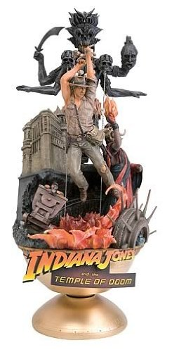 Indiana Jones Theater Temple of Doom Statue Figure