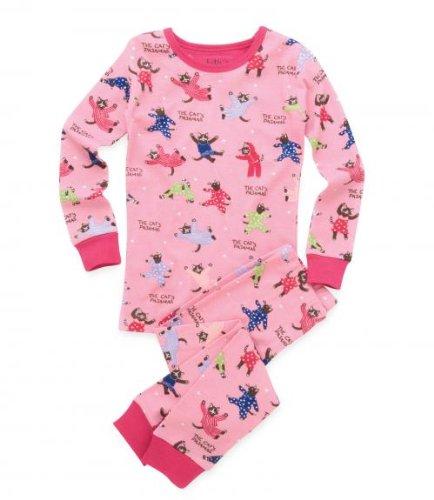 Hatley Cat's Pyjamas Girls PJs Set, Pyjamas, Girls
