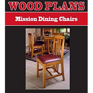 Woodworking Plans and Howtos - Home Made Mission Dining Chair