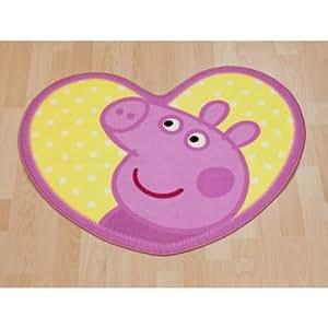 Amazon Com Girls Kids Peppa Pig Bedroom Floor Rug Mat 33