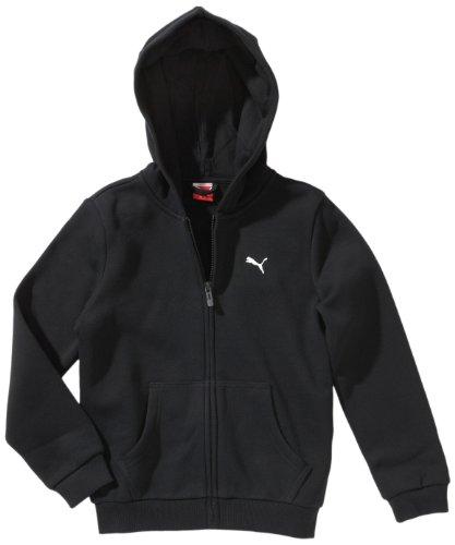 puma jungen sweatshirt jacke ess hooded jacket black 152 824183 01 autumn storefore. Black Bedroom Furniture Sets. Home Design Ideas