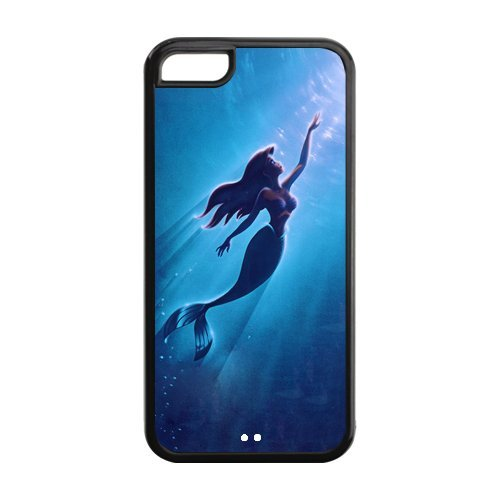 The Little Mermaid - Cover per iPhone 5C, motivo 'La sirenetta' della Disney, in colori resistenti