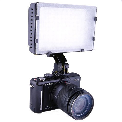 Pro 160-LED Video Camera Light for canon 1Ds,5D,6D,7D,50D,60D,70D,550D,600D,650D,700D,1100D,1200D,Nikon