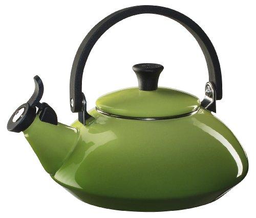 Le Creuset Enamel-on-Steel Zen 1-2/3-Quart Teakettle, Palm (Le Tea Pot compare prices)