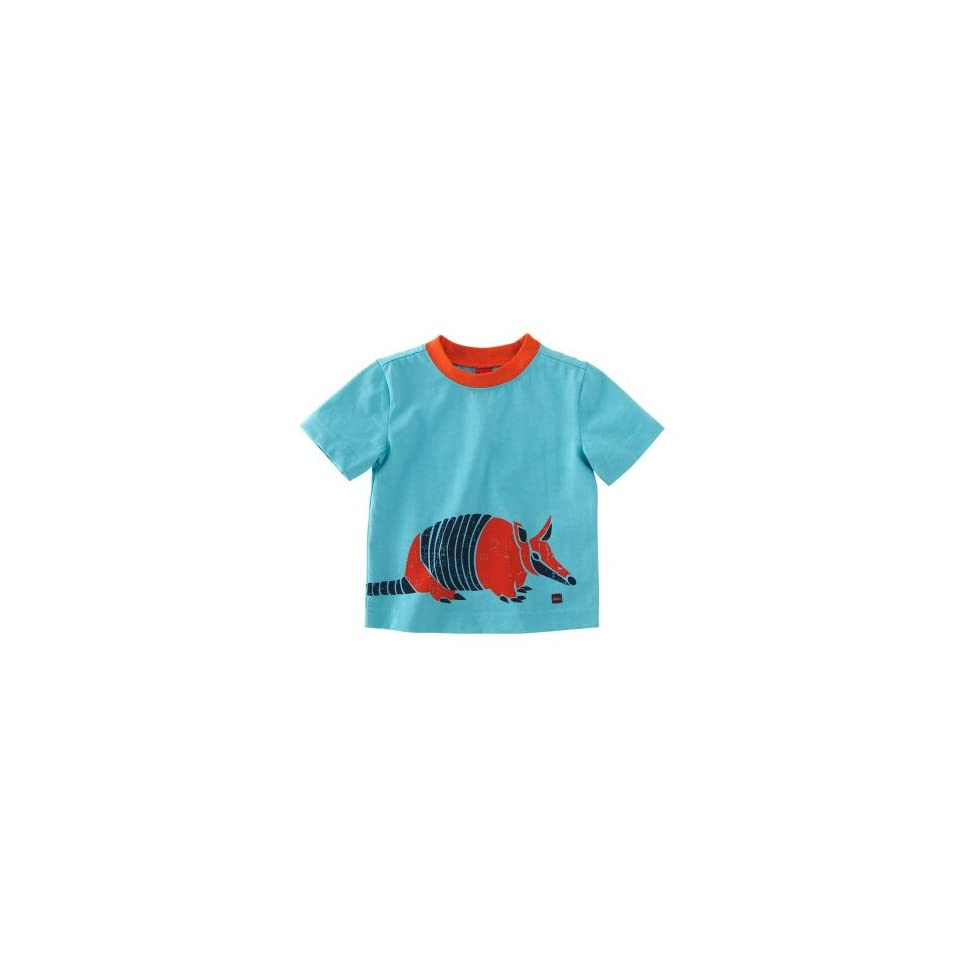 Tea Collection Baby Daily Tea Armadillo Graphic Tee, 18 24 Months