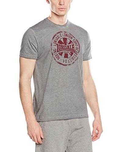 Lonsdale T-Shirt Hawes grau meliert