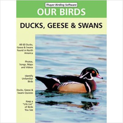 Our Birds, Ducks, Geese & Swans of North America (Thayer Birding Software compare prices)