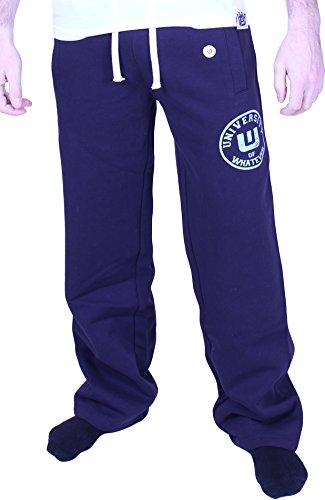 Uomo Pantaloni della tuta originali - L Blu marina - University of Whatever