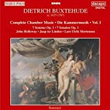 Dietrich Buxtehude: Complete Chamber Music, Vol. I (7 Sonatas Op. 1)