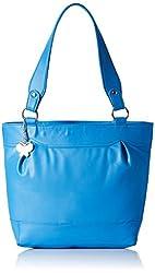Butterflies Handbag Blue (BNS 0527)
