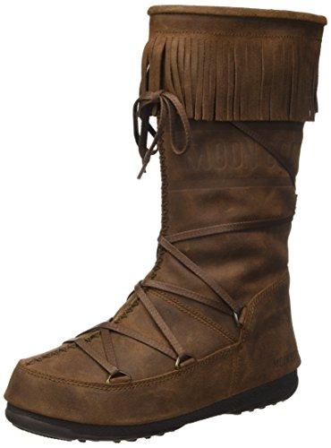 Moon Boot W.E. Dakota, Stivali, Ragazza, Marrone (Testa Di Moro), 37