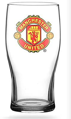 Official Manchester United FC Pint Glass