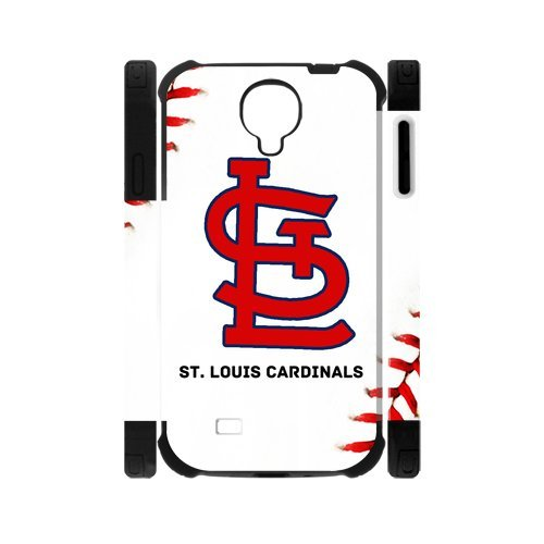 Unique Desgin MLB St. Louis Cardinals Logo Samsung Galaxy S4 I9500 Dual Hard Cover Case at Amazon.com
