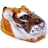 Happy Feet - Orange Tiger - Animal Slippers