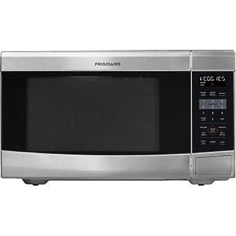 Frigidaire FFCE1638LS 1100-watt Countertop Microwave, 1.6 Cubic Feet, Stainless Steel